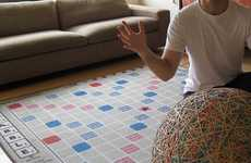 Wordy Board Game Rugs
