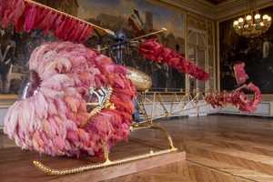 Artist Joana Vasconcelos Pays Tribute to Marie Antoinette