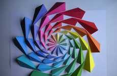 3D Geometric Mosaics - Artist Kota Hiratsuka Creates Dizzying Pieces