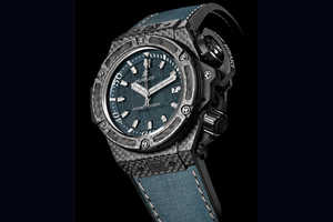Hublot's Stylish Diving Watch is as Sleek as it is Functional