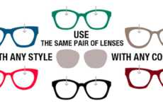 Custom Interchangeable Eyewear