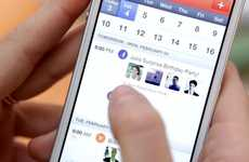 Social Media Scheduling Apps - Sunrise is a New Social Media Calendar That Integrates with Facebook