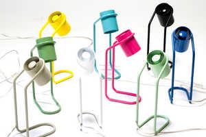 Filip Gordon Frank's Mini Me Design Lamp is Seamlessly Curved