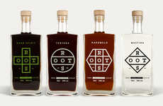 Simplistically Elementary Booze Branding
