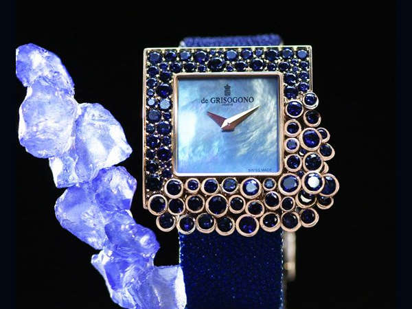 Indulgent Stone-Covered Watches