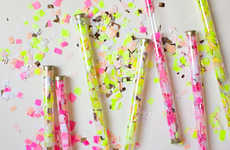 DIY Neon Confetti - The Oh Happy Day DIY Confetti is Perfect for Weddings and Parties