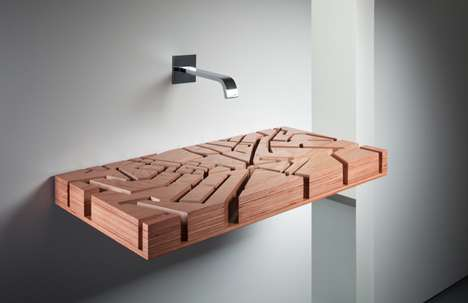 Water Map Washbasin