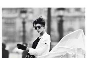 The Karlie Kloss Vogue Paris Editorial is High Energy Fashion