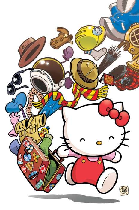 Hello Kitty graphic novel