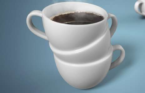 Triple Coffee Cup