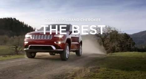 Jeep Chip Away commercial