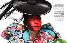 Futuristic Geisha Editorials