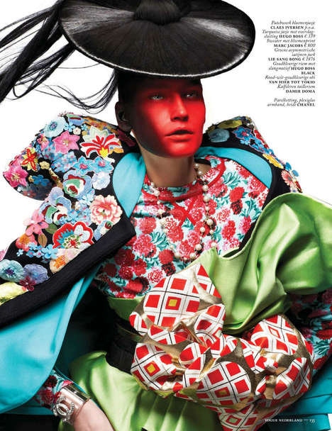 Vogue netherlands march 2013