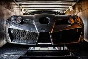 The Carbon Fiber Mercedes-Benz Comes from Romanian Designer Mansory