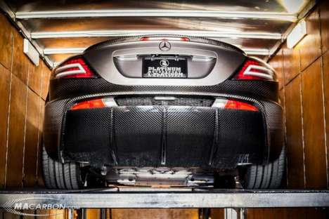 carbon fiber mercedes-benz