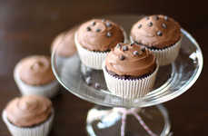 Confectionery Quinoa Recipes - These Bittersweet Chocolate Cupcakes Are Made With Health in Mind