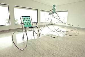 Andy Ralph Creates Interest from Banality Through Garden Sculptures