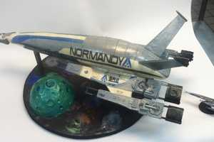 The Mass Effect Cake is Perfect for Fans of Commander Shepard