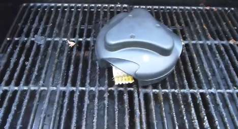 Robotic Barbecue Cleaners