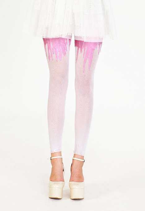 URB Clothing Melting Tights
