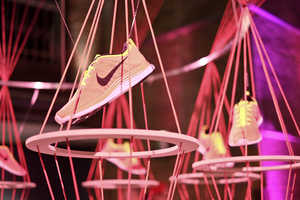 The Flyknit Collective Features Art Inspired by Nike Shoes