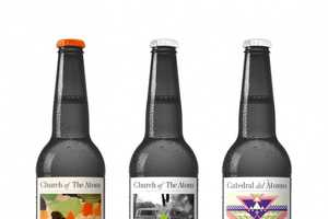 These Cool Beer Bottles are from Swedens Church of the Atom
