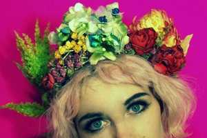 The Fumbilina Bespoke Floral Headbands are Fun and Whimsical
