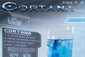 Clint Slowick Has Concocted a Variety of Halo Inspired Drinks