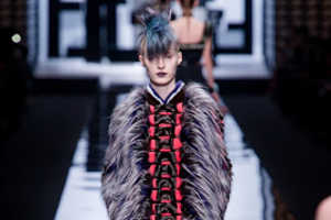 The Fendi Fall 2013 Collection is Full of Embossed Patterns