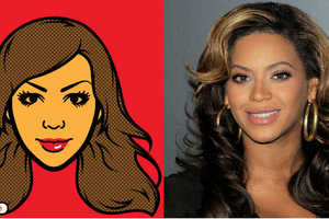 Celebrities Get Run Through the iMadeFace App for a Cartoon Makeover