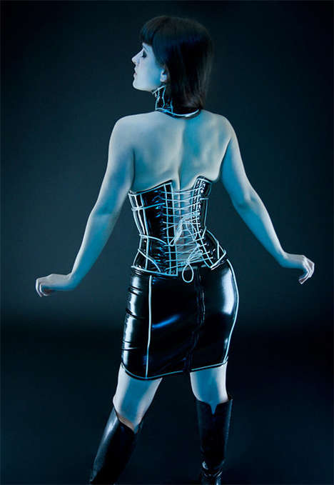 Glow-in-the-Dark Corset
