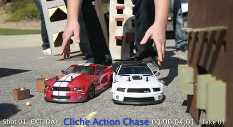 RC Car chase