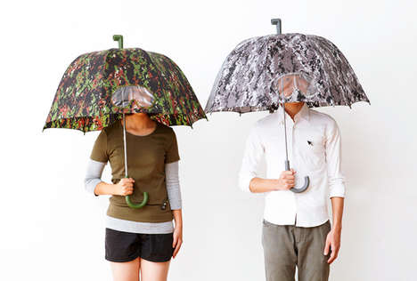 34 Quirky Umbrella Designs - From Toy Brick Umbrellas to Peek-A-Boo Umbrellas