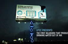 Water Creating Billboards