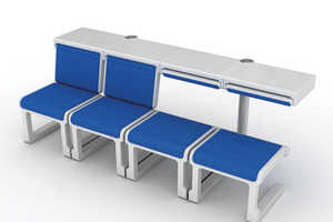 This Adjustable Airport Seat is Great for Sitting and Napping