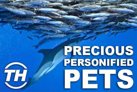 Precious Personified Pets - The Dolphins in San Diego Inspire Creatures to Copy Mankind