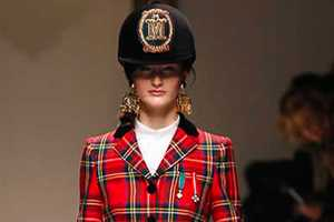 The Moschino Fall 2013 Collection is an Ode to British Guards