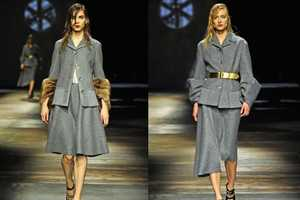 The Prada Fall 2013 Collection Brings Back Feminine Garbs of the 50s