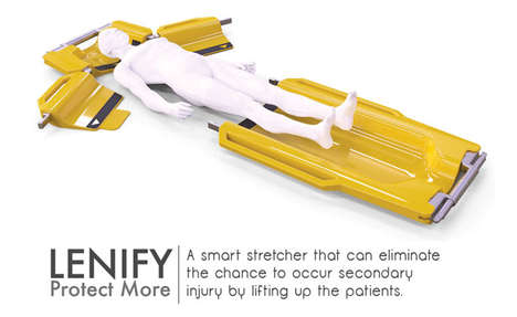 Lenify Collapsible Emergency Stretcher