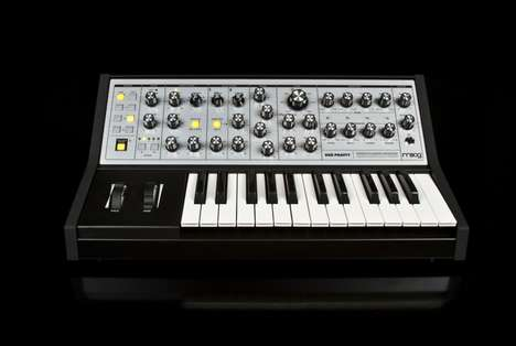 Enhanced Analog Synthesizers - Moog's Latest Synthesizer Blends Functionality with Vintage Features