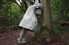 Sobbing Youngster Sculptures