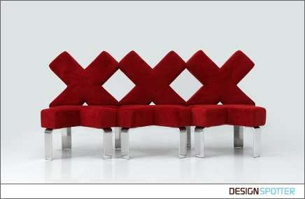 54 Eccentric Sofa Designs - From Ice Cream Sandwich Seating to Recycled Refrigerator Sofas
