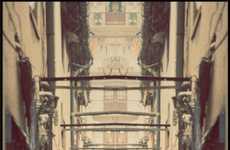 Symmetrical Bustling Urban Portraits
