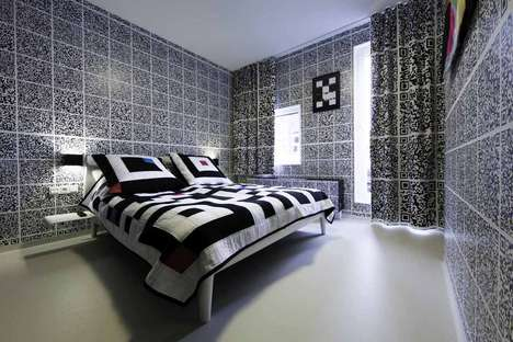 Eclectic Designer-Decorated Hotels - Hotel Modez Uses the Talents of 30 Fashion Designers
