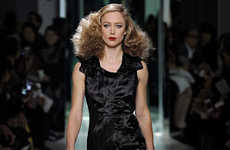 Crumpled Upscale Apparel - The Bottega Veneta Fall Collection is Ruffled Throughout