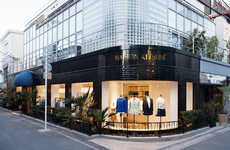 Contemporary Fashion Cafes - The Maison Kitsune Tokyo Store is an Intergrated Model