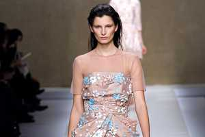 The Blumarine Fall 2013 Collection is Dainty and Light