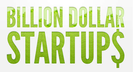 Online Billionaire Startup Infographics - Staff Lays Out the Numbers For the Biggest Online Startups