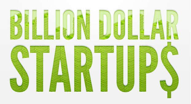 Online Billionaire Startup Infographics