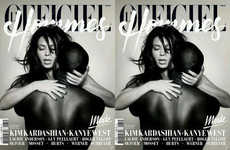 The Kimye Cover For L'Officiel Hommes Gets Leaked
